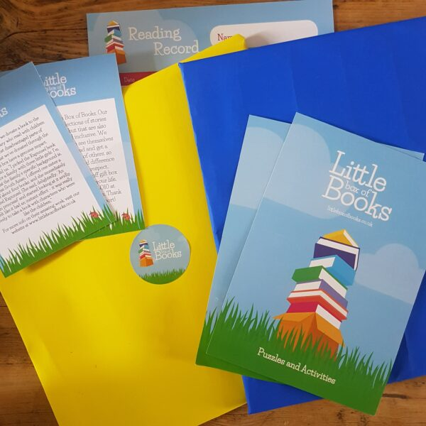 Handwrapped inclusive and representative children's books