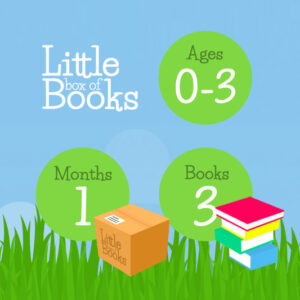 1 months, 3 books, 0-3 years