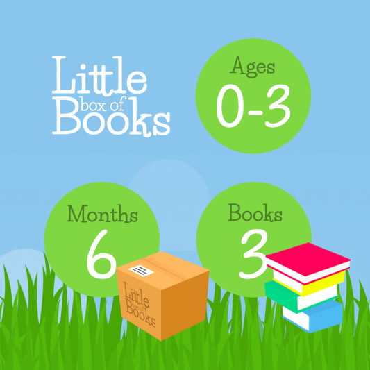6 months, 3 books, 0-3 years