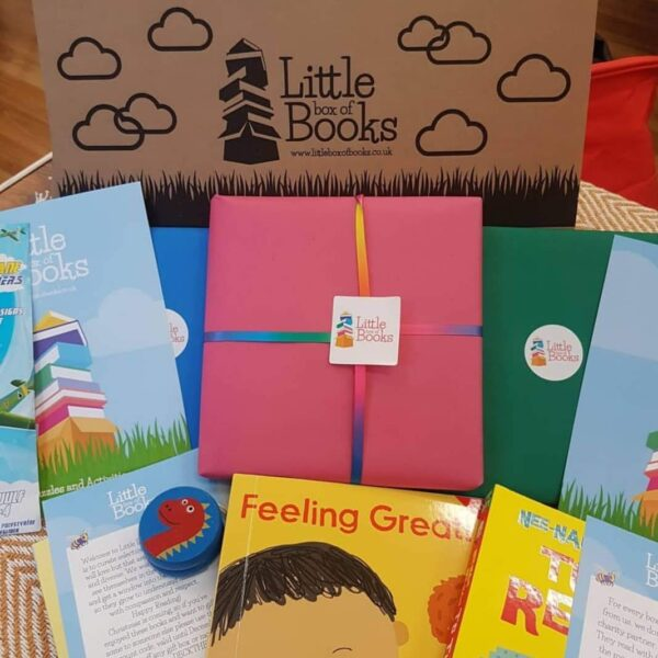 GIft box of inclusive and representative books