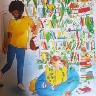 Childrens book of the week is Luna Loves Library Day a book that shows diversity in families