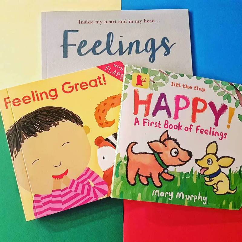 Books that teach children how to manage their emotions and difficult feelings.