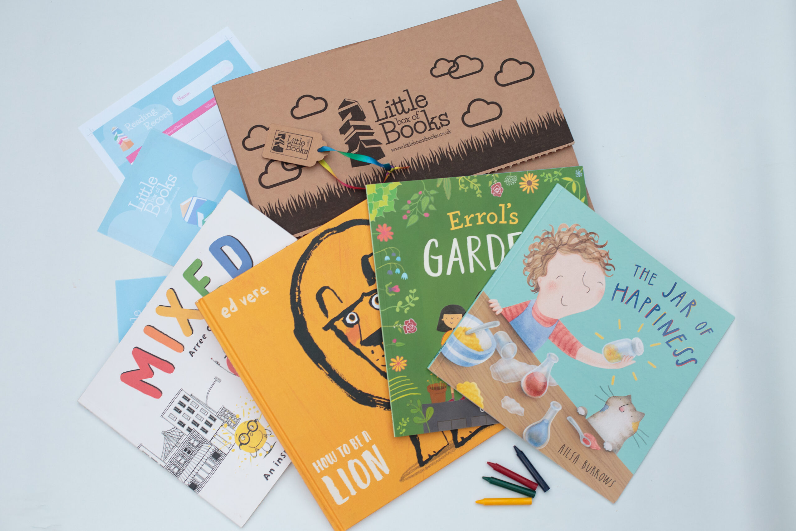 4 books a months for 3 months for 4-7 year olds
