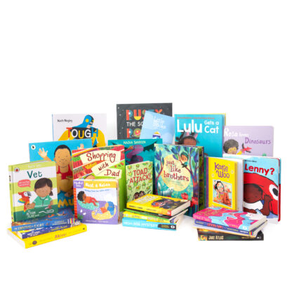 Diverse and inclusive book subscriptions for children