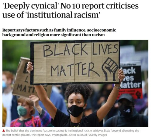 Report from the Commission on Race and Ethnic Disparities