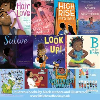 Books by black authors and illustrators.