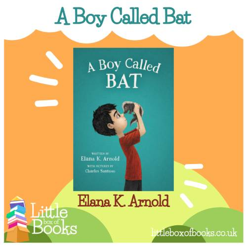 A book called A Boy Called Bat, which features an autistic main character and his new pet skunk