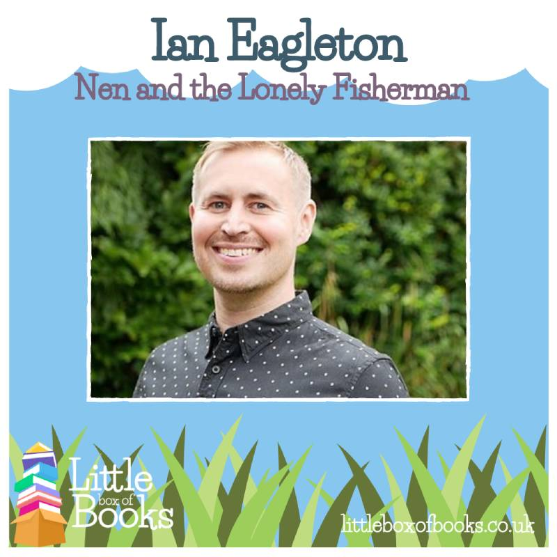 Ian Eagleton, author or Nem and the Lonely Fisherman. A LGBTQ+ children's book.